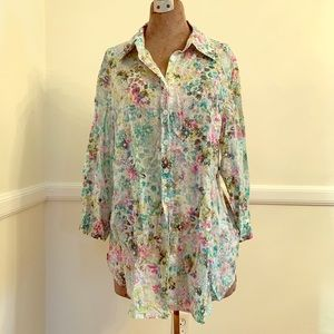 Coldwater Creek blouse size 1X